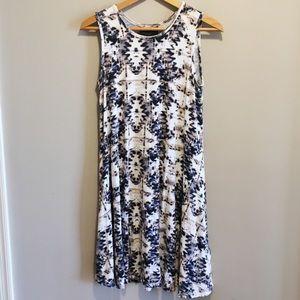 Cynthia Rowley Tribal Print Dress